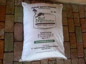 Pupuk Organik Guano Bali Organikultur karung 50.KG